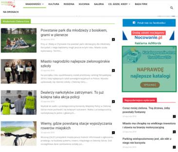 Reklama zielona news pl