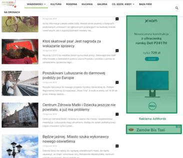 Reklama na zielona news pl