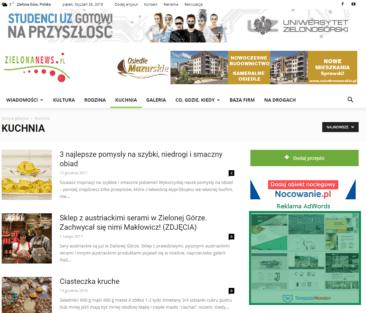 reklama w zielonanews.pl