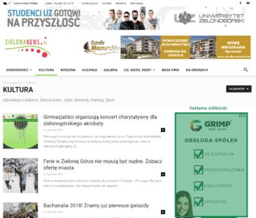 reklamowe banery zielonanews.pl